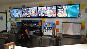 Delighting Customers with Dynamic Digital Menu Displays